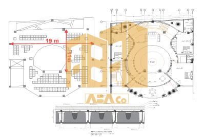 کاربرد سقف وافل در پروژه های مختلف
